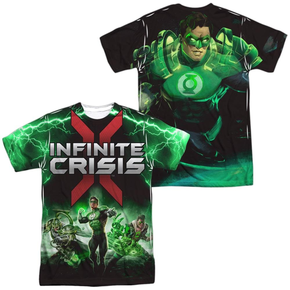 Infinite Crisis - Ic Green Lantern Adult All Over Print 100% Poly T-Shirt