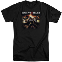 Infinite Crisis Batmen Adult Tall Fit T-Shirt