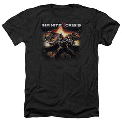 Infinite Crisis - Batmen Adult Regular Fit Heather T-Shirt