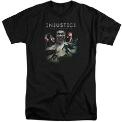 Injustice Gods Among Us Key Art Adult Tall Fit T-Shirt