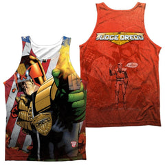 Judge Dredd - Democracy Adult Tank Top