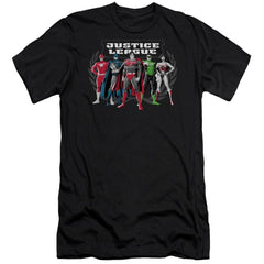 Jla The Big Five Premium Adult Slim Fit T-Shirt