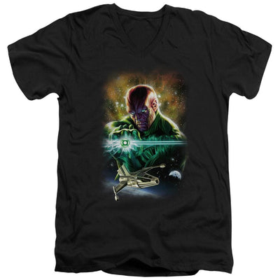 Justice League Abin Sur Men's V-Neck T-Shirt