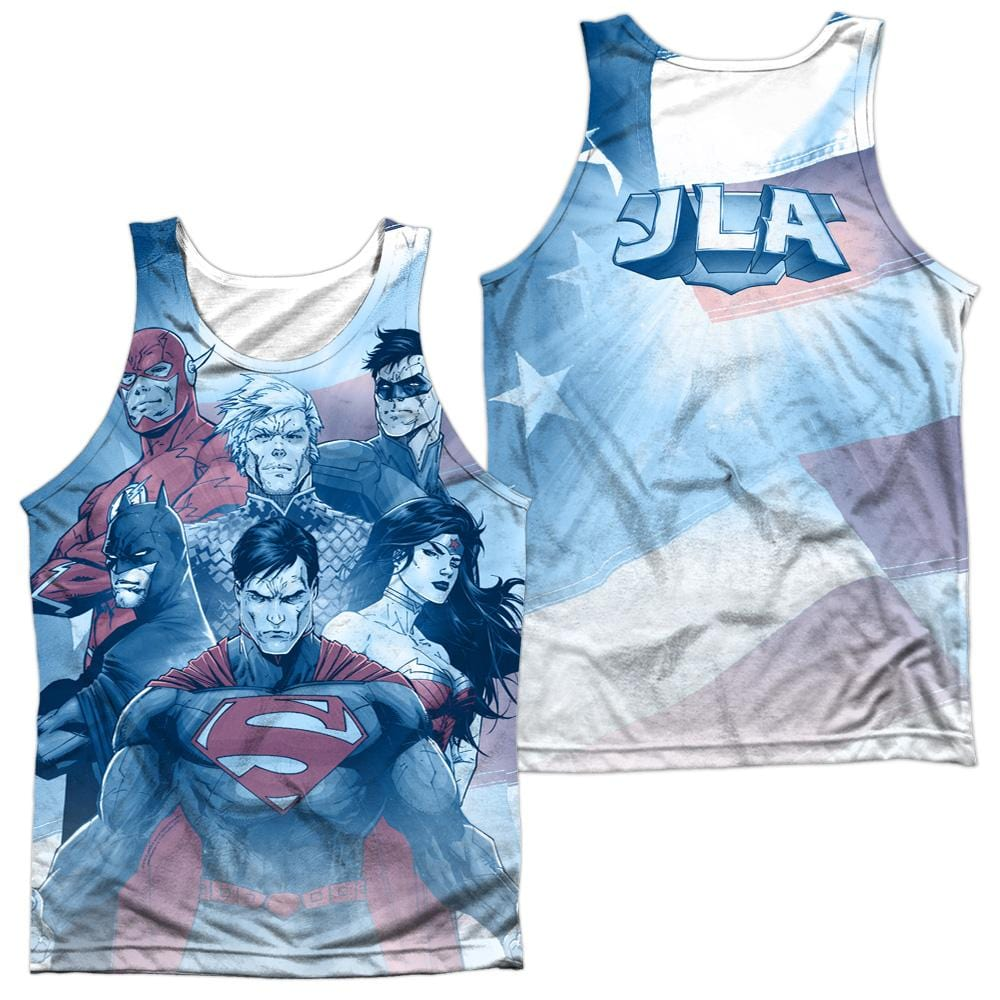 Justice League - United Adult Tank Top