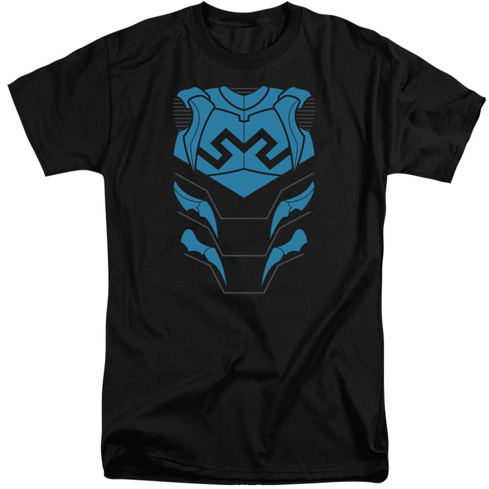 Jla Blue Beetle Adult Tri-Blend T-Shirt