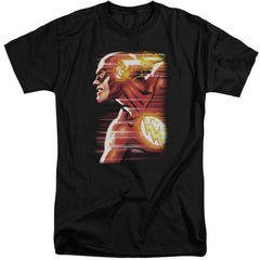 Jla Speed Head Adult Tall Fit T-Shirt