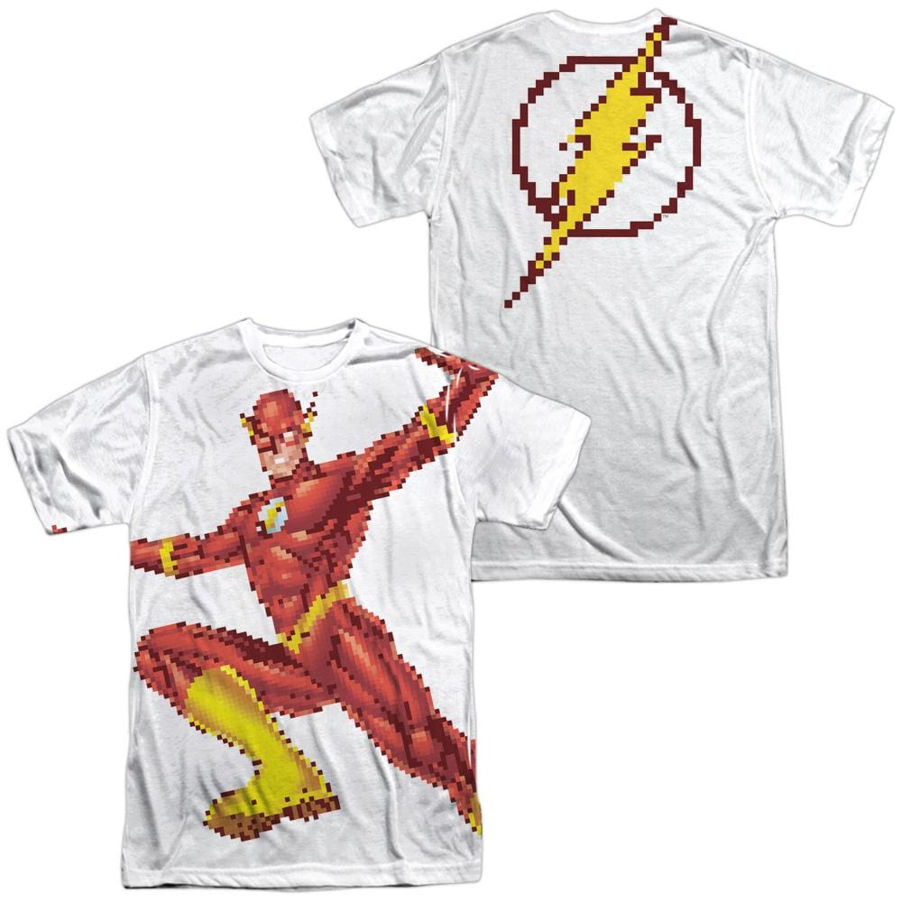 The Flash - Flashbit Adult All Over Print 100% Poly T-Shirt