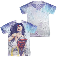 Justice League - Warrior Goddess Adult All Over Print 100% Poly T-Shirt