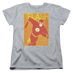 Jla Simple Flash Poster Women's T-Shirt