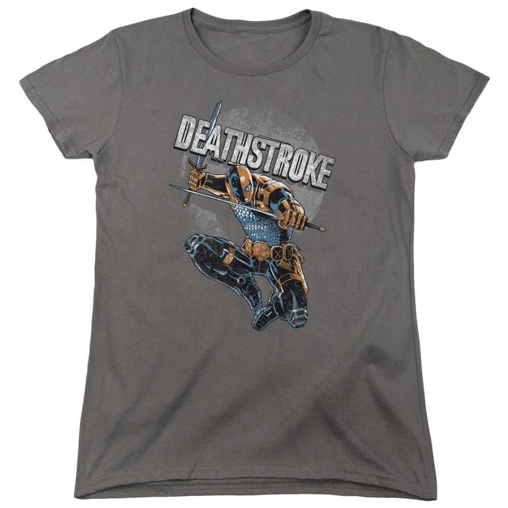 Jla - Deathstroke Retro Women's T-Shirt