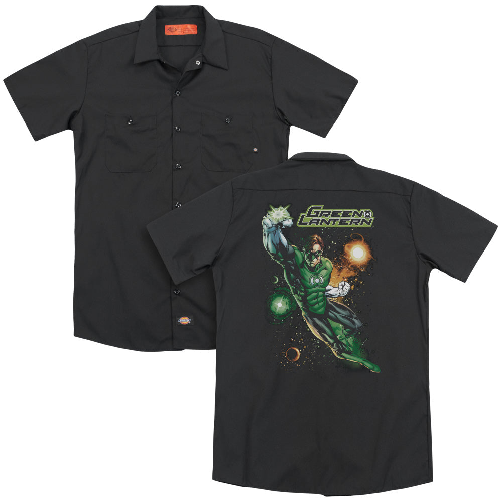 Jla Galactic Guardian Adult Work Shirt