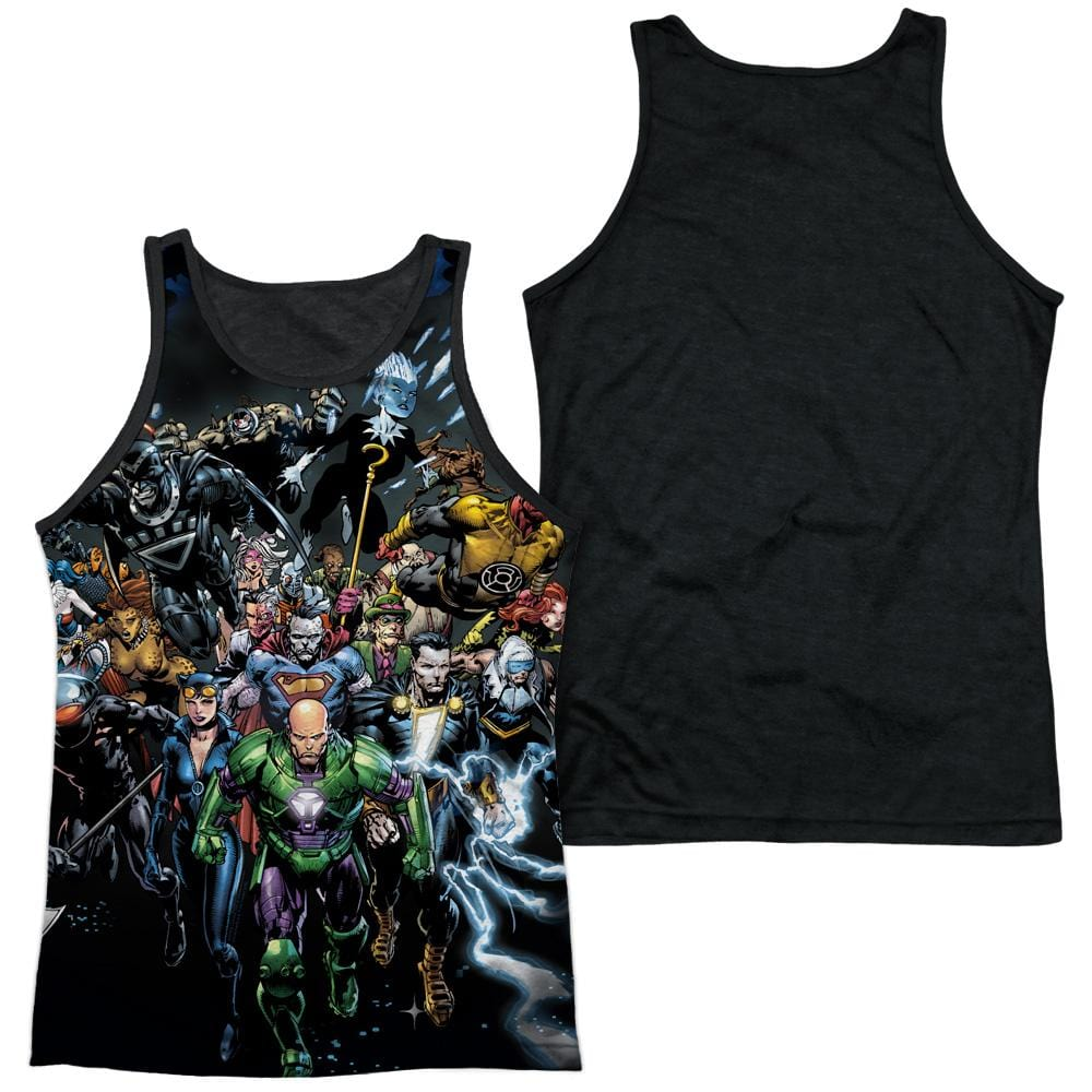 Justice League - Forever Evil Adult Tank Top