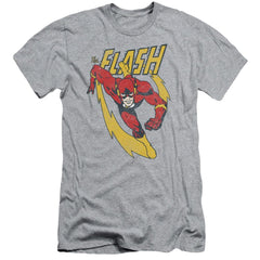 Jla Lightning Trail Adult Slim Fit T-Shirt