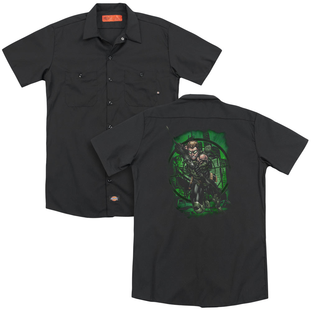 Jla In My Sight Adult Work Shirt