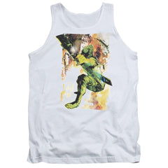 Jla Painted Archer Adult Tank Top