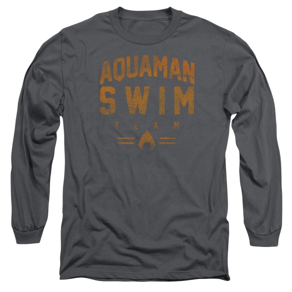 Jla - Swin Team Adult Long Sleeve T-Shirt