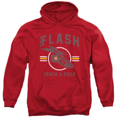 Jla - Track And Field Adult Pull-Over Hoodie