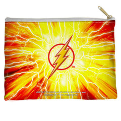 Justice League - Lightning Emblem Straight Bottom Pouch