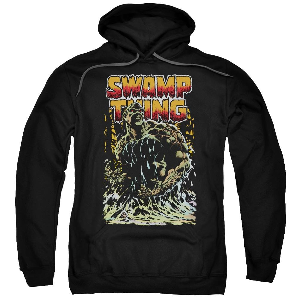 Jla - Swamp Thing Adult Pull-Over Hoodie