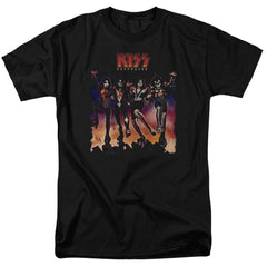 Kiss Destroyer Cover Adult Regular Fit T-Shirt