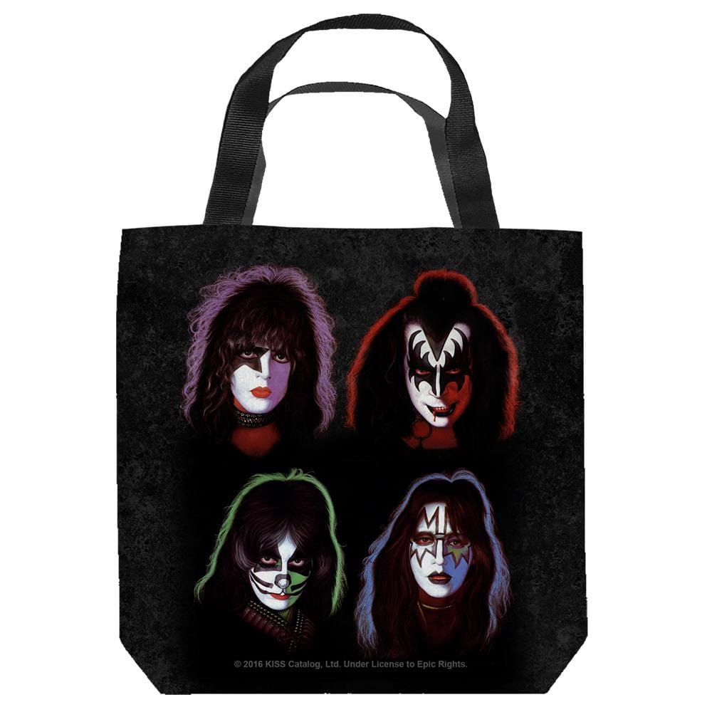 Kiss - Solo Heads Tote Bag