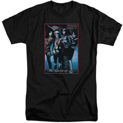 Kiss Spirit Of 76 Adult Tall Fit T-Shirt