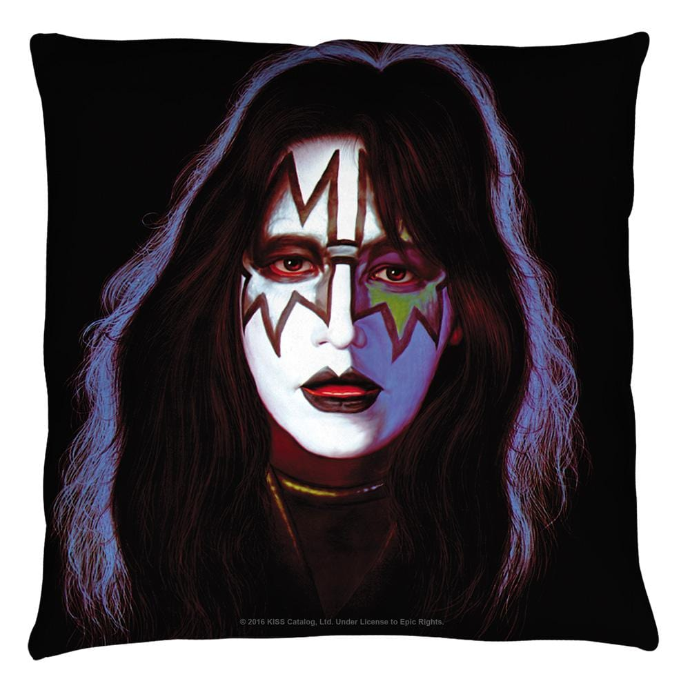 Kiss - Space Ace Throw Pillow