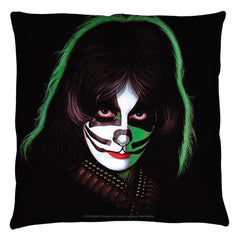 Kiss - Catman Throw Pillow