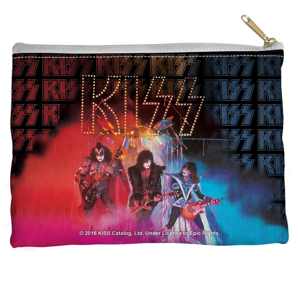 Kiss - Stage Lights Straight Bottom Pouch