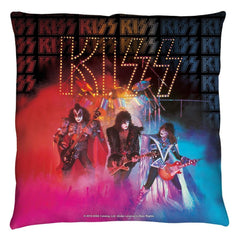 Kiss - Stage Lights Throw Pillow