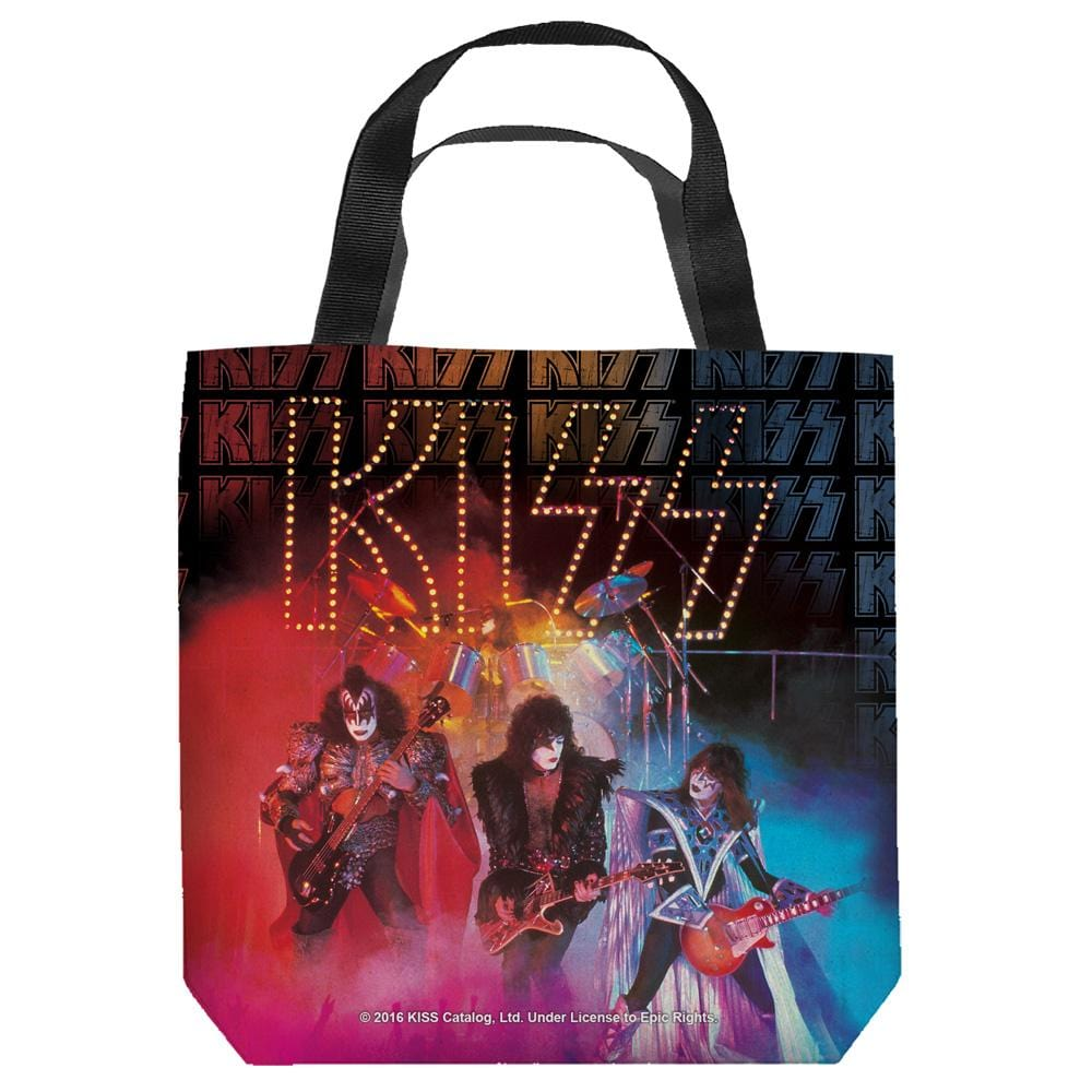 Kiss - Stage Lights Tote Bag