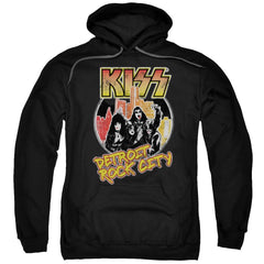 Kiss Detroit Rock City Adult Pull-Over Hoodie