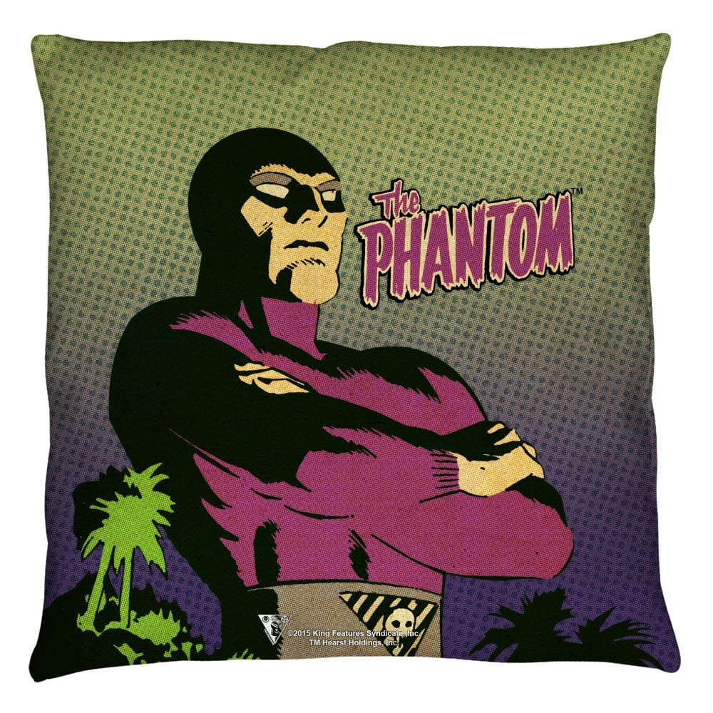 Phantom - Island Throw Pillow