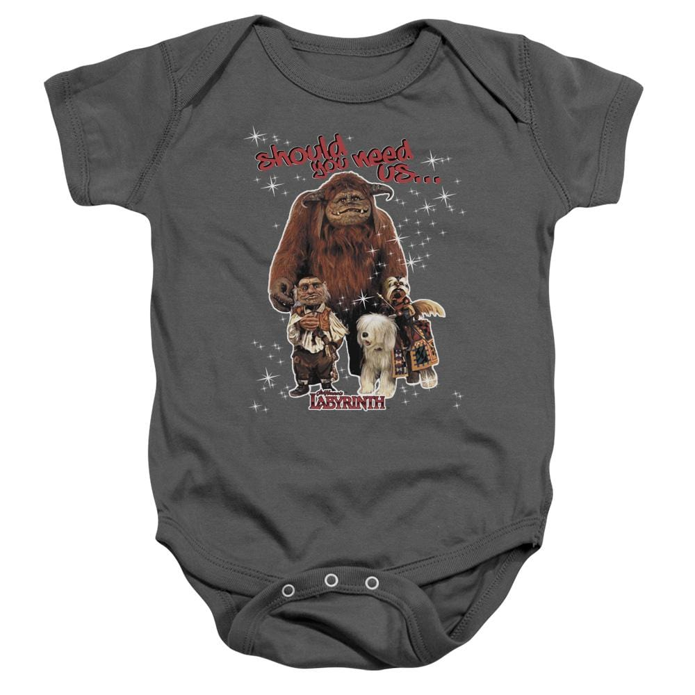 Labyrinth Should You Need Us Baby Onesie