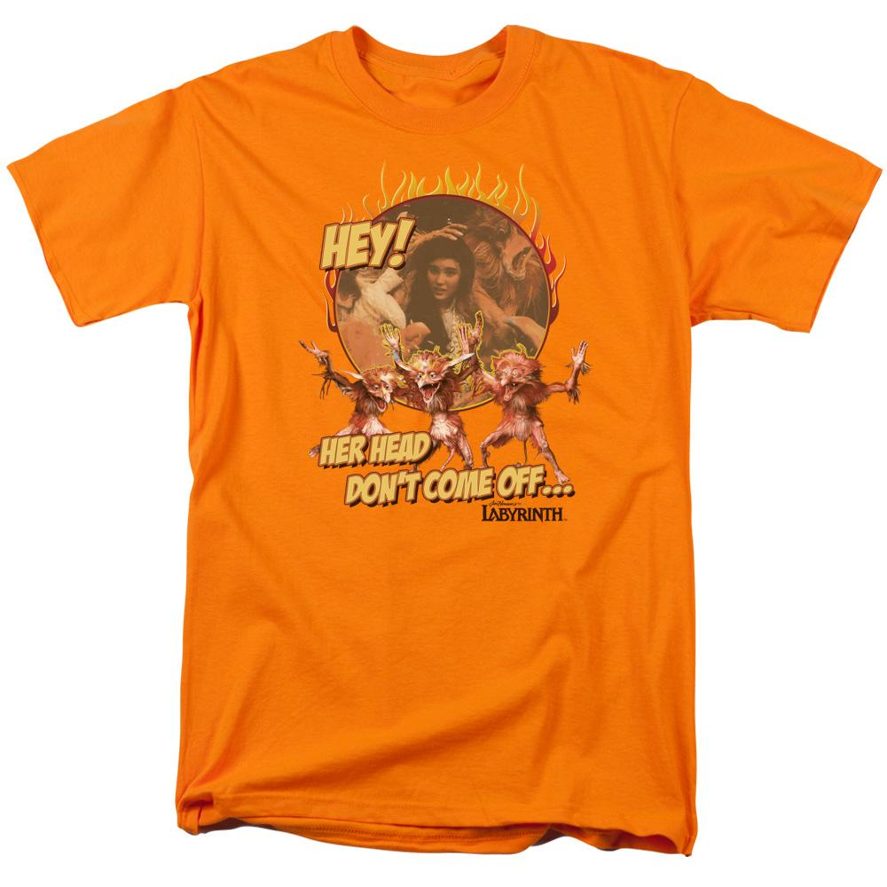 Labyrinth - Head Don't Come Off Adult Regular Fit T-Shirt