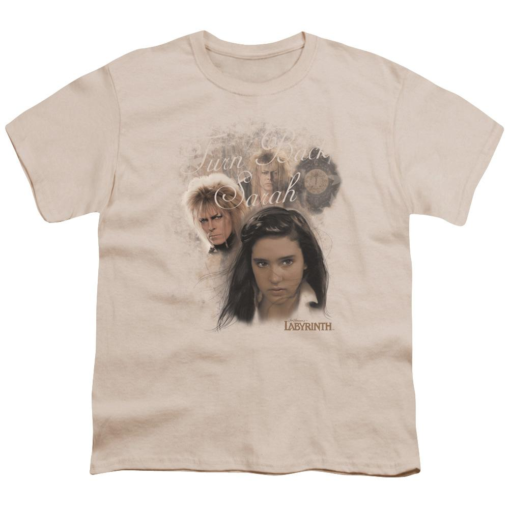 Labyrinth - Turn Back Sarah Youth T-Shirt