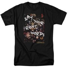 Labyrinth - Right Words Adult Regular Fit T-Shirt