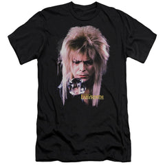 Labyrinth - Goblin King Adult Slim Fit T-Shirt