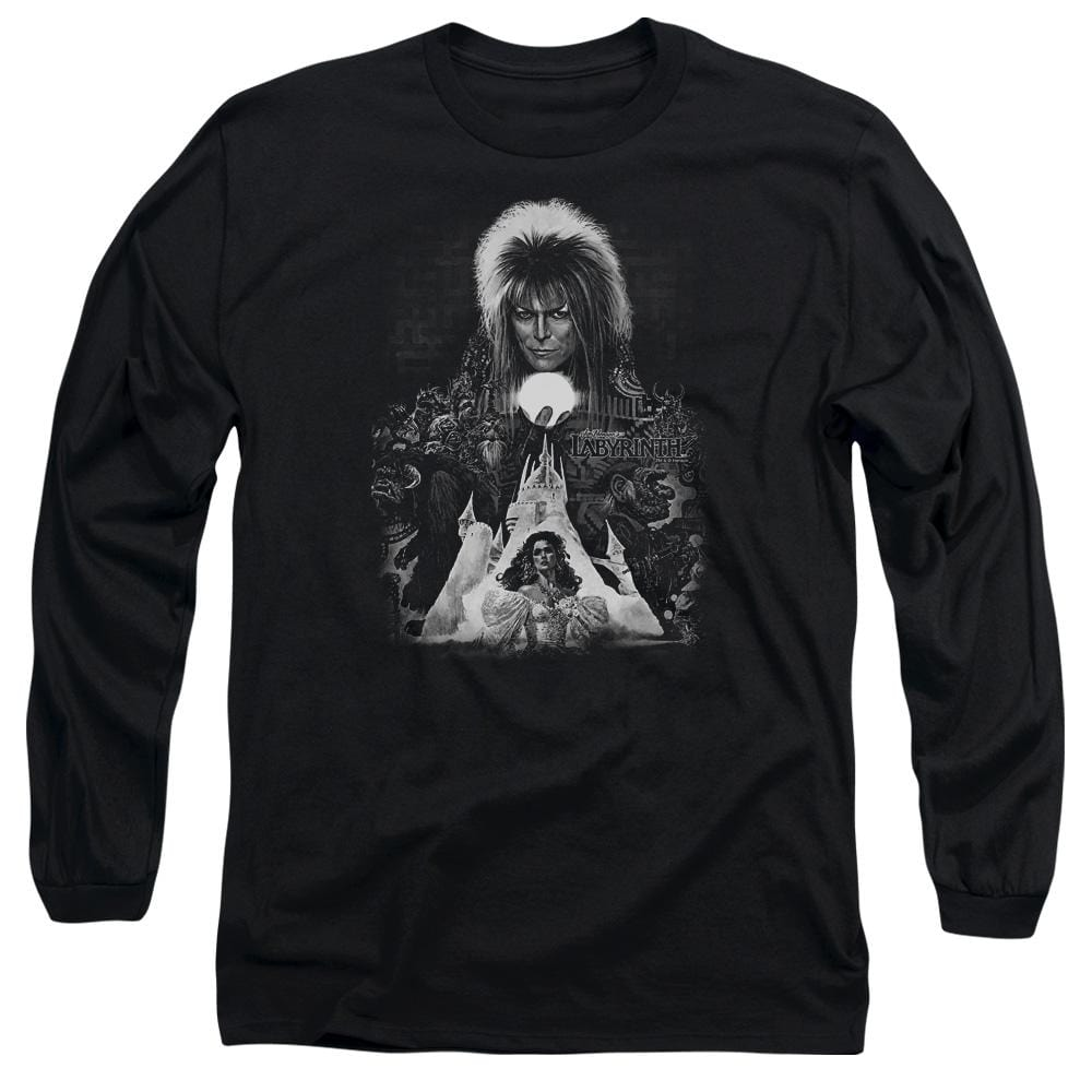 Labyrinth - Castle Adult Long Sleeve T-Shirt