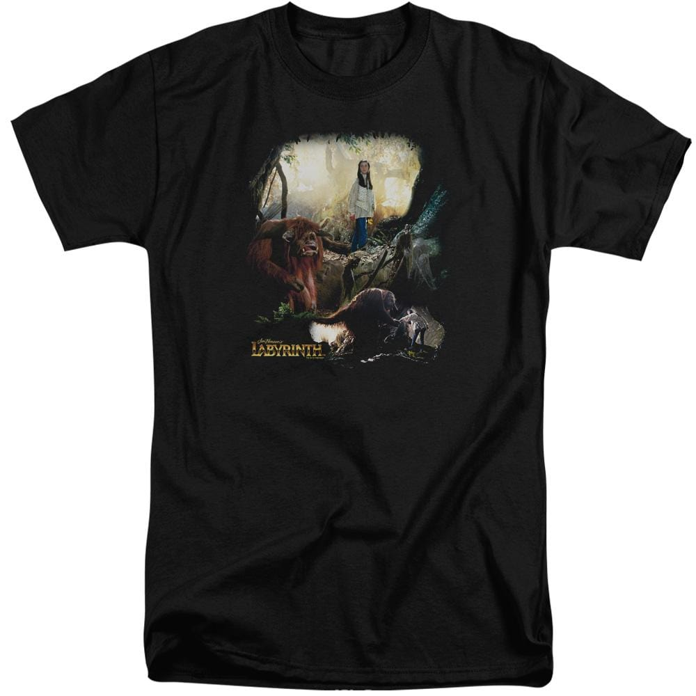 Labyrinth - Sarah & Ludo Adult Tall Fit T-Shirt