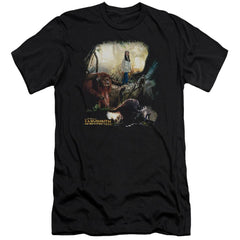 Labyrinth Sarah & Ludo Premium Adult Slim Fit T-Shirt