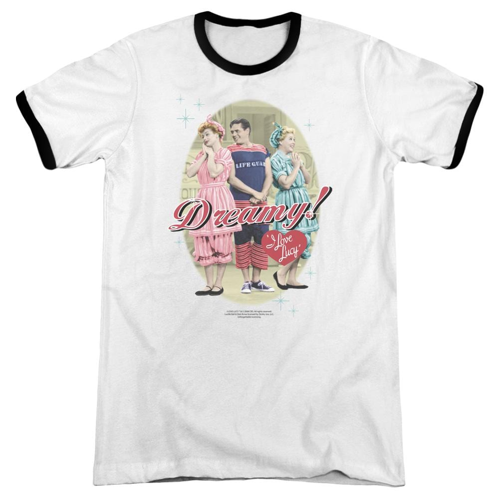 Lucy - Dreamy! Adult Ringer T- Shirt