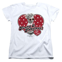 I Love Lucy - Funny And Fabulous Women's T-Shirt