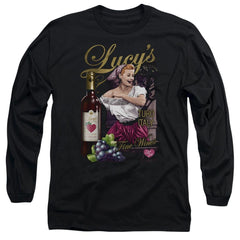 Lucy - Bitter Grapes Adult Long Sleeve T-Shirt
