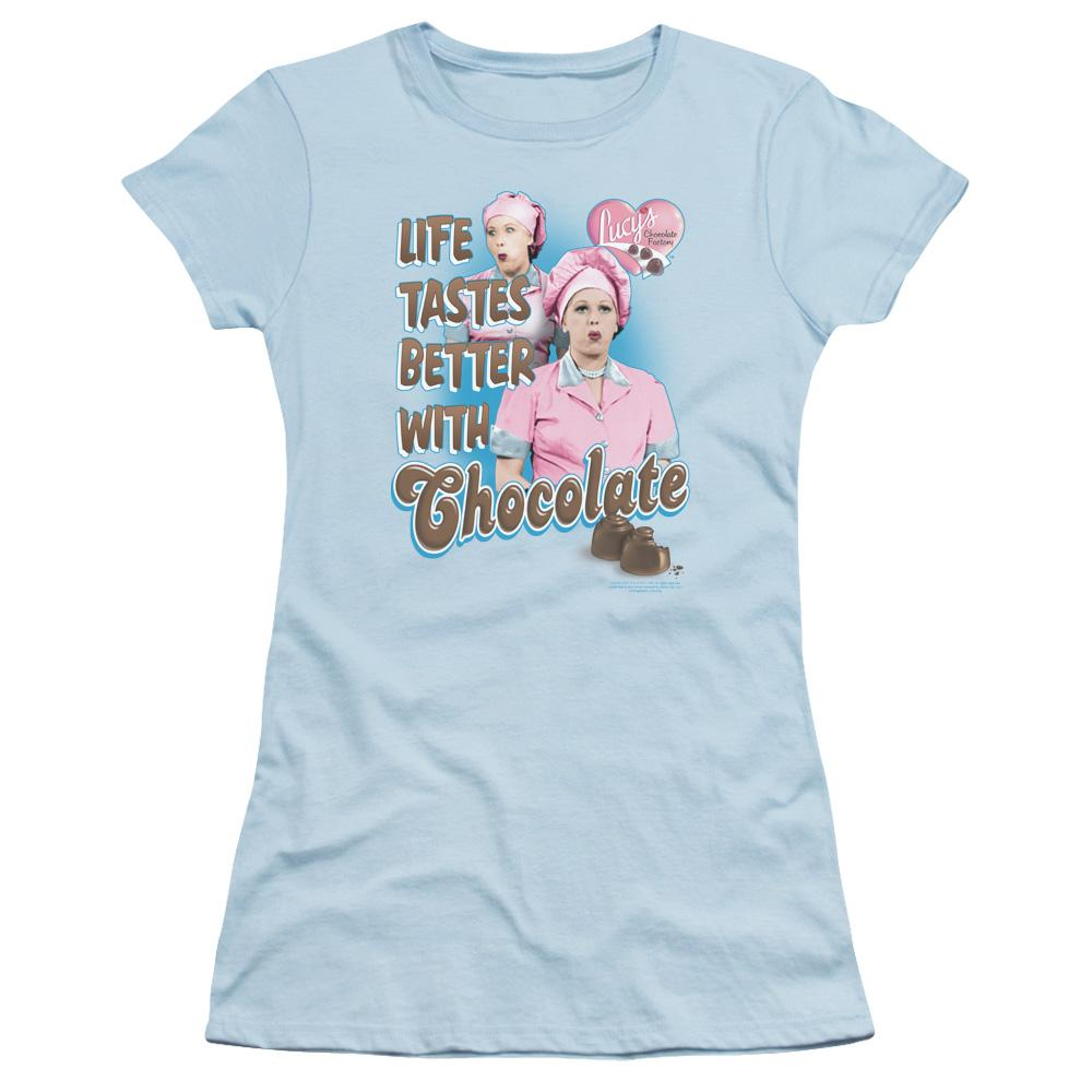 Lucy - Better With Chocolate Junior T-Shirt