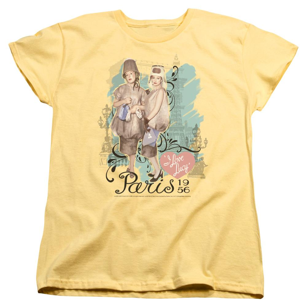 Lucy - Paris Dress Women's T-Shirt
