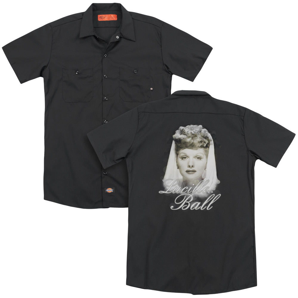 Lucille Ball Glowing Adult Work Shirt