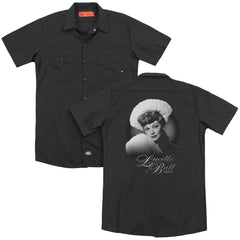 Lucille Ball Soft Portrait Adult Work Shirt