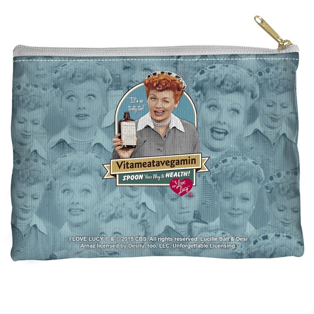 Lucy - Vitameatavegamin Straight Bottom Pouch