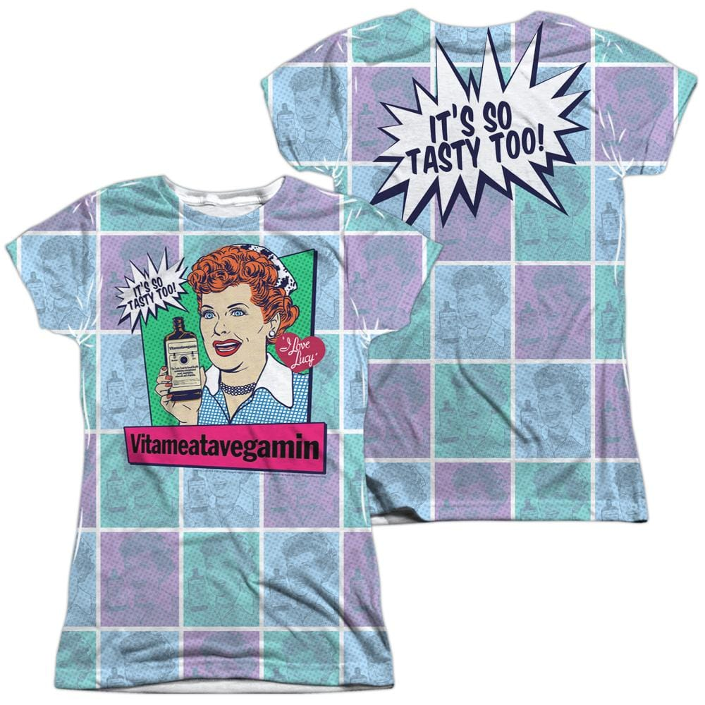 Lucy - All Over Vita Comic Junior All Over Print 100% Poly T-Shirt